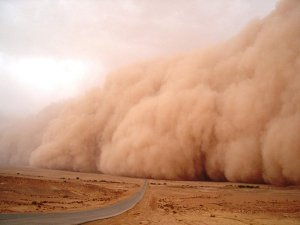Dust Storm in India