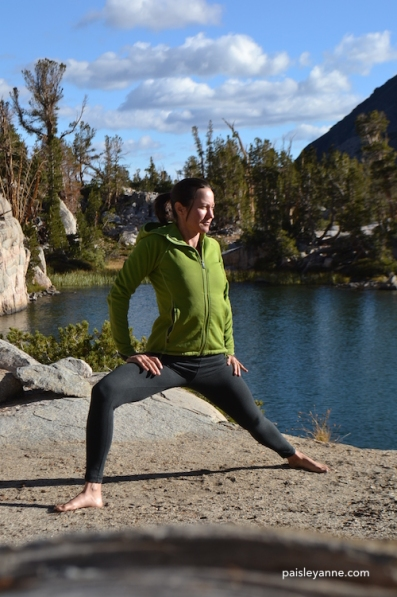 Virabhadrasana 2 : Rock Creek, CA