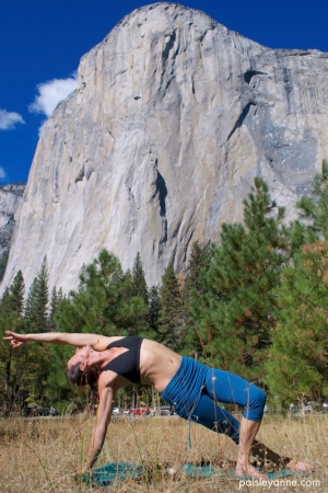 Vasisthasana: supported variation