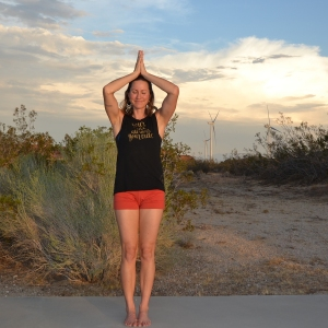 Tadasana : feet together