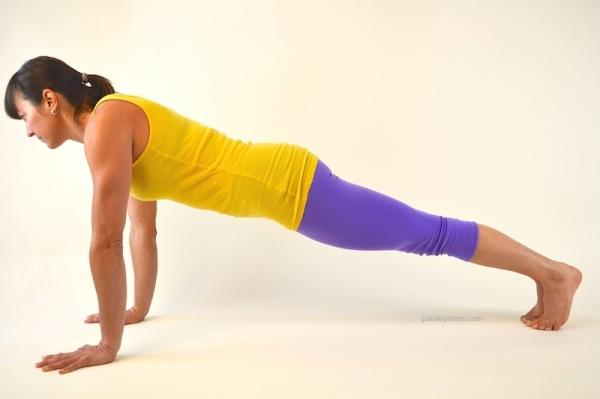 Phalakasana :: Plank Pose