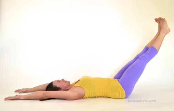 Uttana Padasana :: Leg Lowering & Lifting
